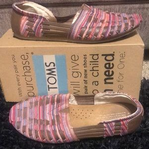 TOMS Multicolored Harachas